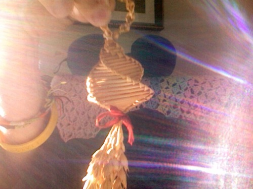 a Danish straw ornament