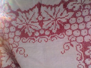 and finally, a Danish tablecloth